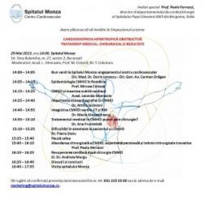 CARDIOMIOPATIA HIPERTROFICĂ OBSTRUCTIVĂ  TRATAMENT MEDICAL, CHIRURGICAL ȘI REZULTATE