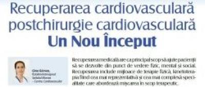 Recuperarea cardiovasculară post-chirurgie cardiovasculară un nou inceput